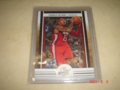 美國職籃 NBA Nuggets Carmelo Anthony  2009-2010 Panini 明星賽 球員卡