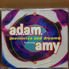 "CD A.D.A.M. Featuring Amy Memories And Dreams 5"" EP (Germany)"
