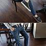 喬羽中大尺碼XL-5XL牛仔鬆緊腰頭彈力哈倫褲~KB091101~1