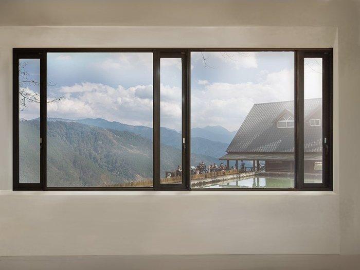 JW-049 景觀推射窗,觀景窗 隔音窗 氣密窗 採光罩 玻璃欄杆 三合一門 鋁窗 室內裝修 防水工程 原廠 大同 正新