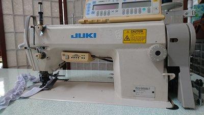 工業用縫紉機 日本製, JUKI DLU-5494N-7單針平縫差動上下送布(縮縫)切線車. 中古. .狀況優.價格優惠