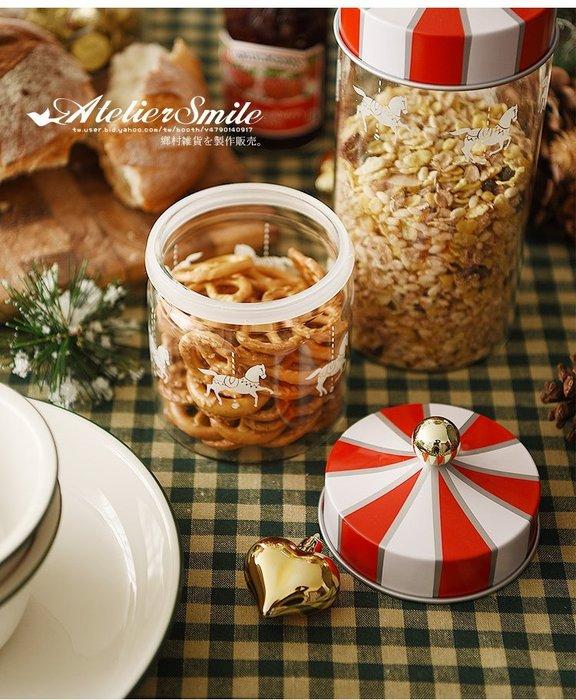[ Atelier Smile ] 鄉村雜貨 義大利復古密封罐 馬戲團系列收納罐 密封罐 # 小 (現+預)