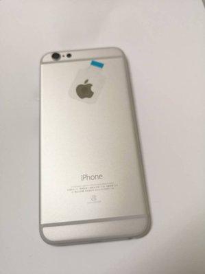 【原廠背蓋】Apple iphone 6 原廠背蓋 背殼 手機殼 贈手工具 (含側按鍵) - 銀色