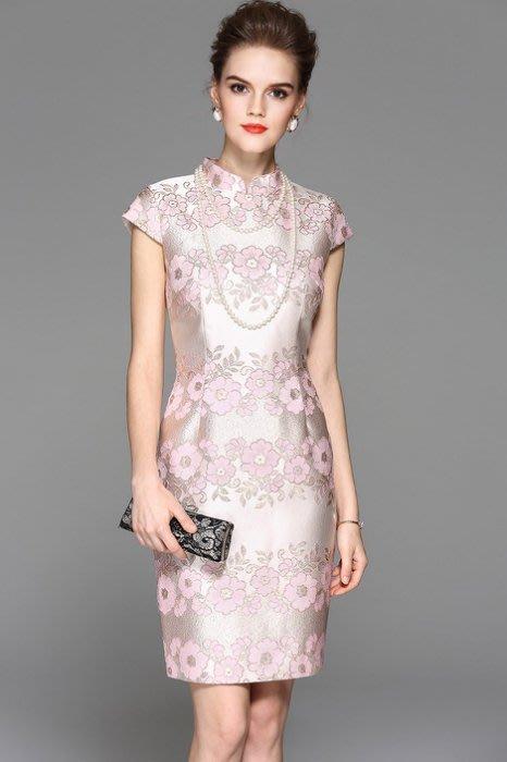 大小姐時尚精品屋~~婆婆媽媽主婚人旗袍宴會裝小禮服~3件免郵