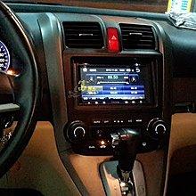富馳汽車音響07~12 CRV3 改裝七吋多媒體DVD影音主機~USB/數位電視/藍芽/安卓手機鏡像連結~