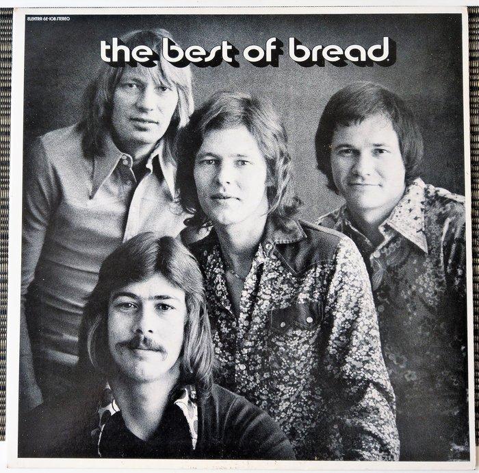 Bread 麵包合唱團 冠軍曲精選, 美版 黑膠LP, 稀有, 已絕版(非 蔡琴)