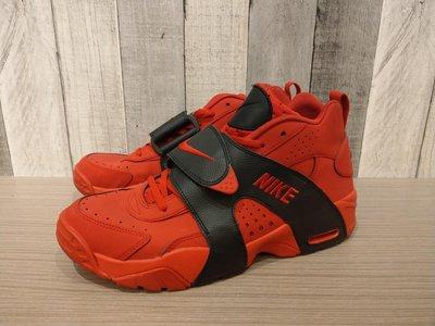 二手 Nike Air Veer retro 紅黑 魔鬼氈 訓練鞋599442-600 紅色 紅牛 US10.5