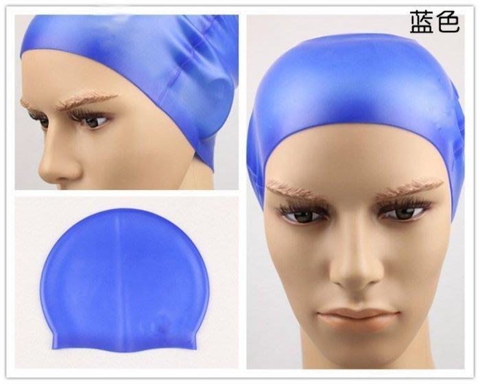全新 舒適防水耐用泳帽純色矽膠泳帽男女時尚遊泳帽無皺泳帽K9