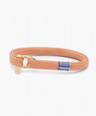 【紐約范特西】現貨 PIG & HEN VICIOUS VIK P19-SS20-347000 古粉/金扣 船繩手環