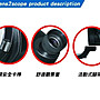 【eWhat億華】Lens2scope 鏡頭轉接器 將鏡頭變成望遠鏡 可 賞鳥 觀星 黑色45度 Pentax 【2】