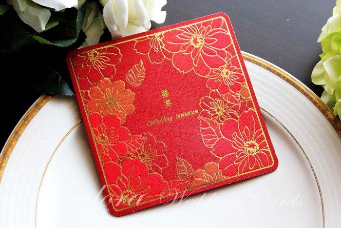 『潘朵菈精緻婚卡』經典設計款喜帖※中式雅緻12元喜帖系列※喜帖編號:W-261036