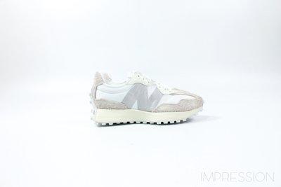 【IMPRESSION】NEW BALANCE WS327SFD 灰 白 白絲綢 女鞋 現貨