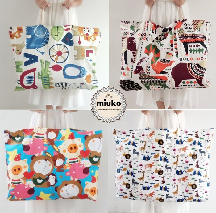 miuko BABY款韓國風嬰幼兒男女寶寶男童女童 夏款 幼稚園 棉被 枕頭 拉鍊 收納袋