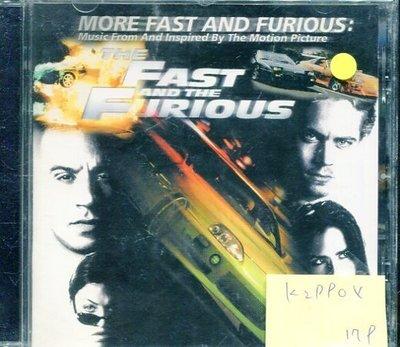 *真音樂* THE FAST AND THE FURIOUS 二手 K29904