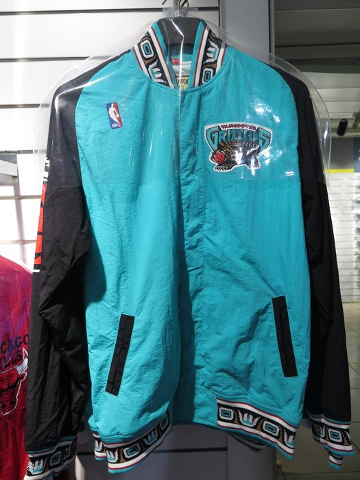 iSport愛運動 M&N TEAL AUTHENTIC WARM UP NBA熱身外套 MNEGOU01VGT 藍綠