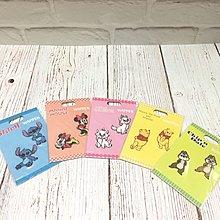 Disney 小熊維尼、史迪仔、大鼻鋼牙、米妮 刺繡貼紙 Winnie the Pooh、 Stitch、 Chip n Dale、 Minnie、 Marie