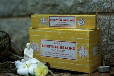 [綺異館] 印度香 賽巴巴 心靈療癒 15g Satya spiritual healing 線香 另售印度皂