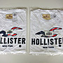 Hollister Logo Graphic 白色 刺繡貼布短袖T恤  Abercrombie & Fitch A&F