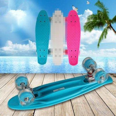 BULEX廠家直銷兒童四輪滑板小魚板閃光輪腳踏滑板車