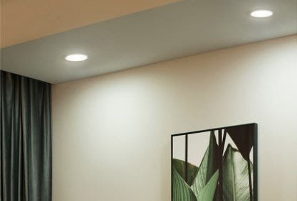 PHILIPS 飛利浦 Hue 睿玥 智能 LED 4.5W 85mm筒燈 客廳 餐廳 智能控制 110-220V