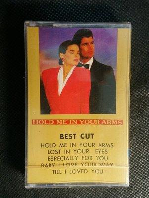 錄音帶/卡帶/DB/全新未拆/英文/百老匯 魅力老歌新唱 /HOLD ME IN YOUR ARMS/BEST CUT/非CD非黑膠
