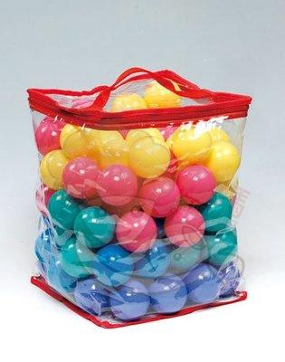 ☆╮花媽╭☆ 球屋 遊戲屋及泳池專用的100顆彩色安全遊戲球-CCB-04