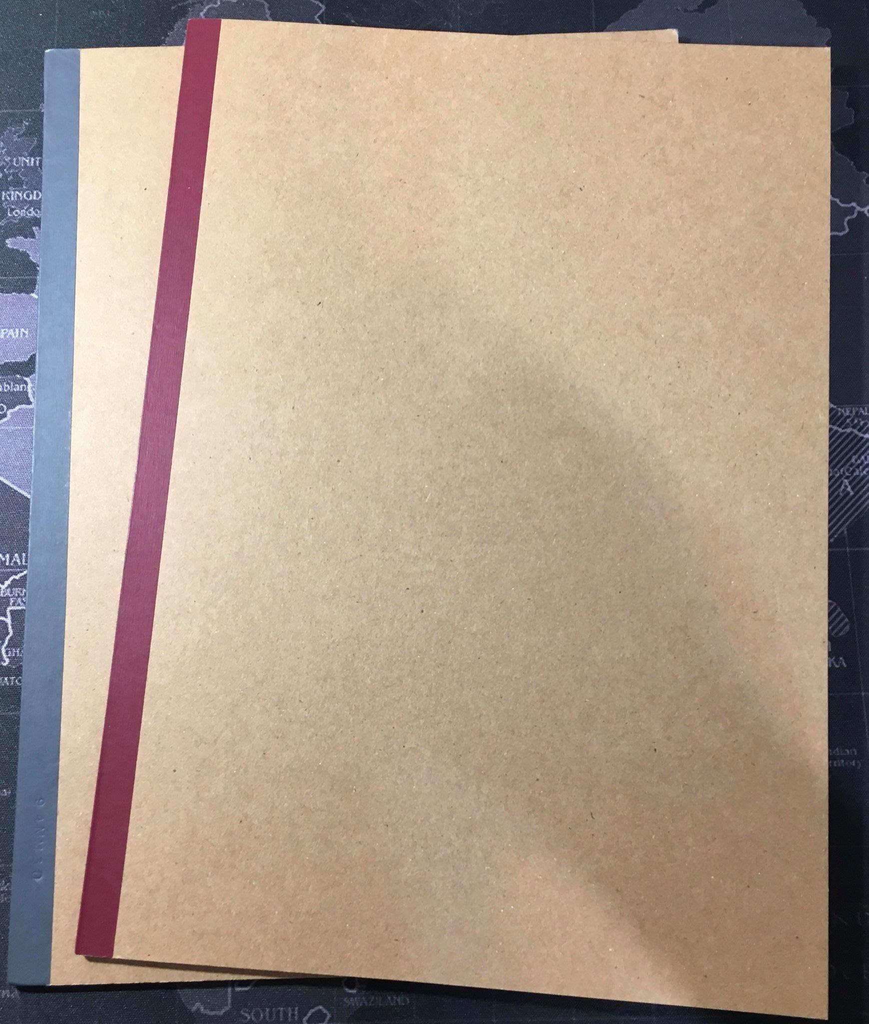無印良品MUJI B5橫線筆記本2入 (不單賣)