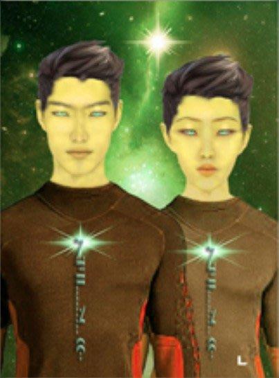 [心靈之音] #345天倉五星人(多次元創造力、全球社群集結)THE TAU CETIA -能量催化圖-美國進口中文說明