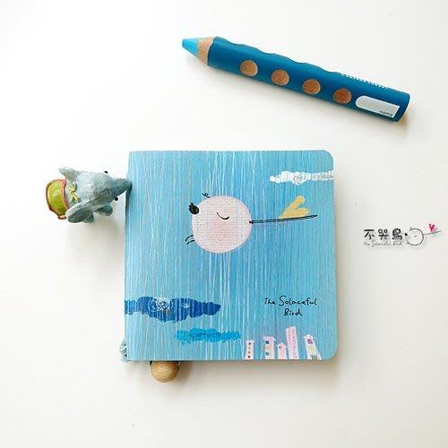 筆記本 手札*小本子-散心*不哭鳥