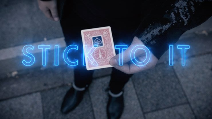 【天天魔法】【S1330】正宗原廠~封口貼的變幻~Stick To It by Shahrul Nizar