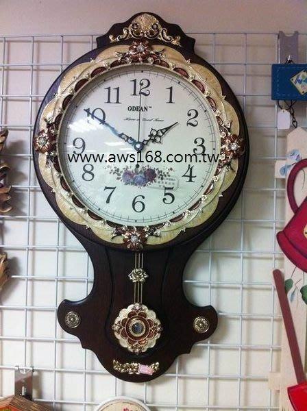大型古典實木掛鐘日本進口石英機芯.時鐘.擺鐘.造型鐘