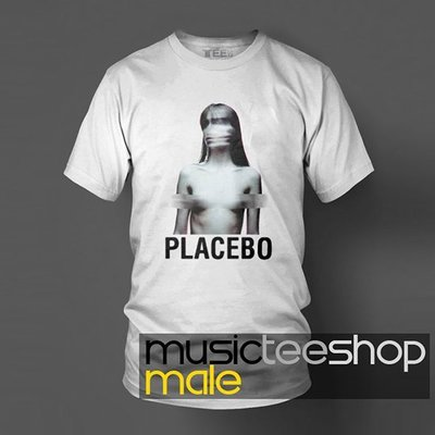 【另類搖滾系列】Placebo【百憂解樂團】短袖白色T恤(男生版.女生版皆有) 新款上市專單進貨!