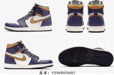(全新正品)10 Nike SB x Jordan 1 defiant lakers 刮刮樂紫金湖人芝加哥 CD6578