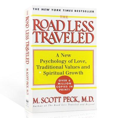 正版The Road Less Traveled英文原版少有人走的路心智成熟的旅程心理學讀物英語閱讀經典書籍M斯科特派克
