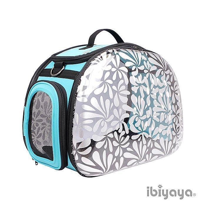 COCO《》 依比呀呀IBIYAYA透明膠囊寵物提包《忍冬花》FC-1220HS外出包/肩背包