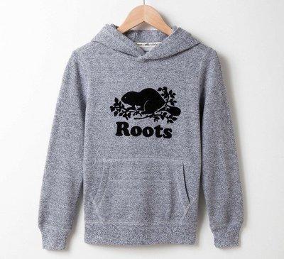 ~☆.•°莎莎~*~☆~~加拿大 ROOTS KB Roots Salt & Pepper™ 帽T(童)