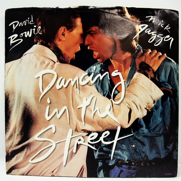 45 rpm 7吋單曲 David Bowie  Mick Jagger 【Dancing in the street】