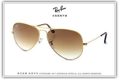 【睛悅眼鏡】永恆經典不滅 RAY BAN 太陽眼鏡 RB-3025-001_51(尺寸62)65127 台北市