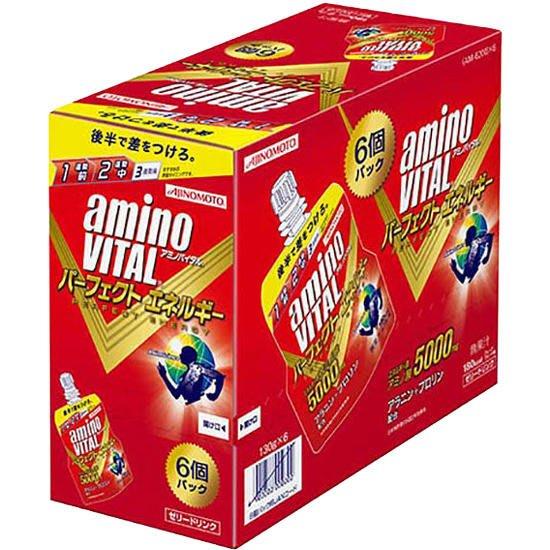 騎跑泳者-日本味之素(公司貨)aminoVITAL 胺基酸能量凍 130g * 6袋/盒裝(免運)