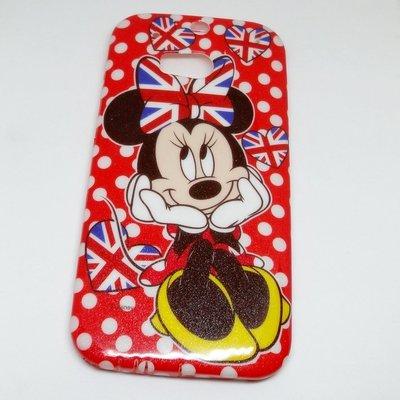 【UNIPRO】HTC One M8  迪士尼 手機殼 米妮 Minnie 保護套 TPU軟殼