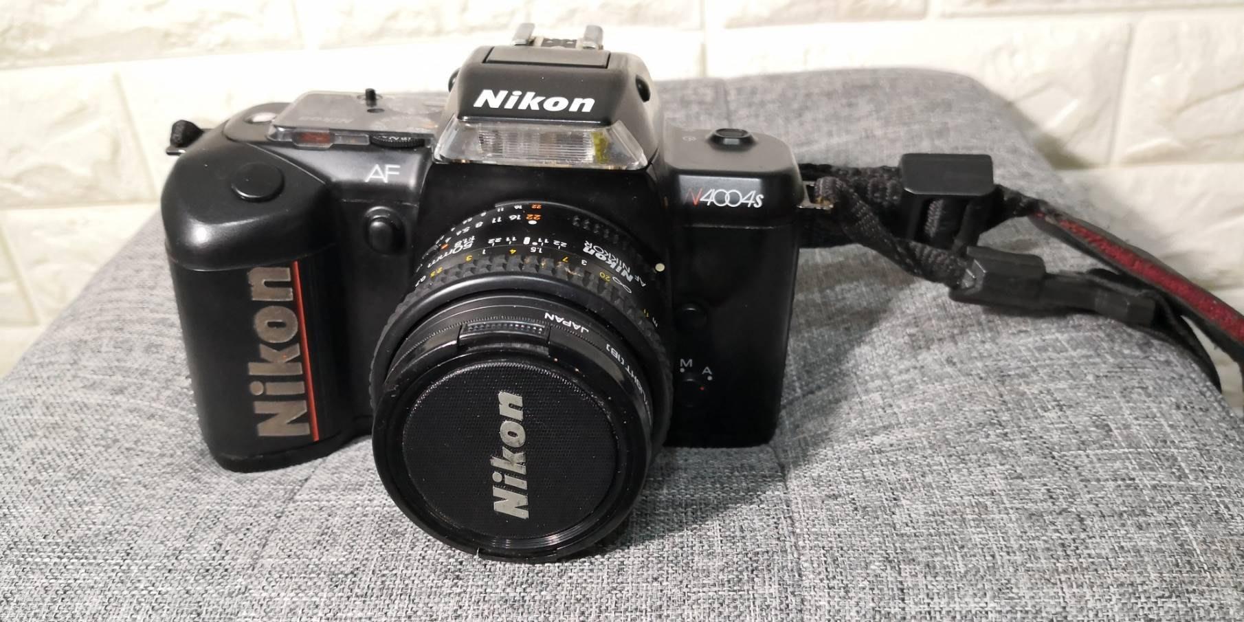 Nikon N4004s + Nikon 50mm1.8/f 老相機