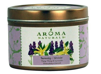 Ducky's Wellness 美國Aroma Naturals 香薰大豆蠟燭 伊蘭伊蘭&薰衣草 79g (罐裝)