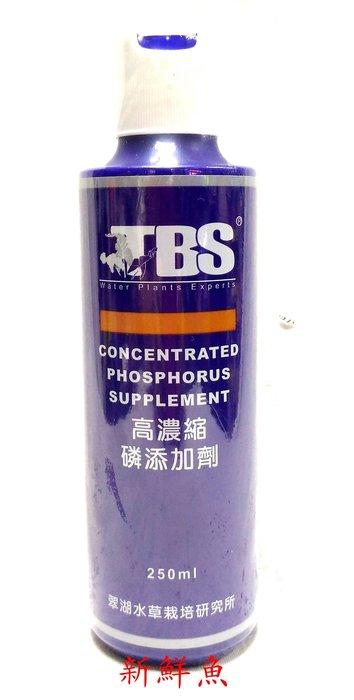 新鮮魚水族館 實體店面 TBS翠湖 水質系列 高濃縮 磷 P 添加劑 250ml