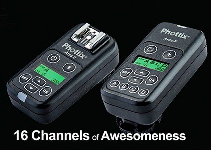 呈現攝影-Phottix Ares ll 無線閃燈觸發器2.4G 通用型引閃器 150m 引閃器 離機閃