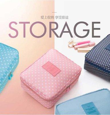 化妝品袋簡約小號防水旅行洗漱包便攜化妝包大容量收納手拿包 多功能收納包