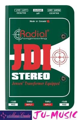 造韻樂器音響- JU-MUSIC - Radial JDI Stereo  出色的信號處理 DI 『公司貨,免運費』