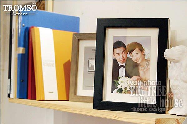 TROMSO-相框 風格主義-實木4x6平框 /婚禮  相片 IKEA 三色任選 大樹小屋【H0305029】M2