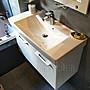 [新時代衛浴] KARAT臉盆浴櫃組92*41cm,  薄邊...