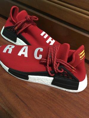 全新 Adidas x Pharell Williams PW Human Race NMD 紅色 菲董 BB0616