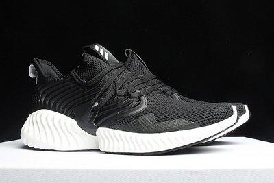 D-BOX  Adidas Alpha bounce Beyond  休閒 慢跑鞋 黑色 情侶款 愛迪達